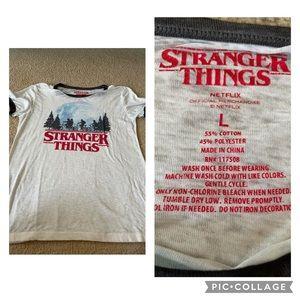 Stranger Things season 1 tee shirt
